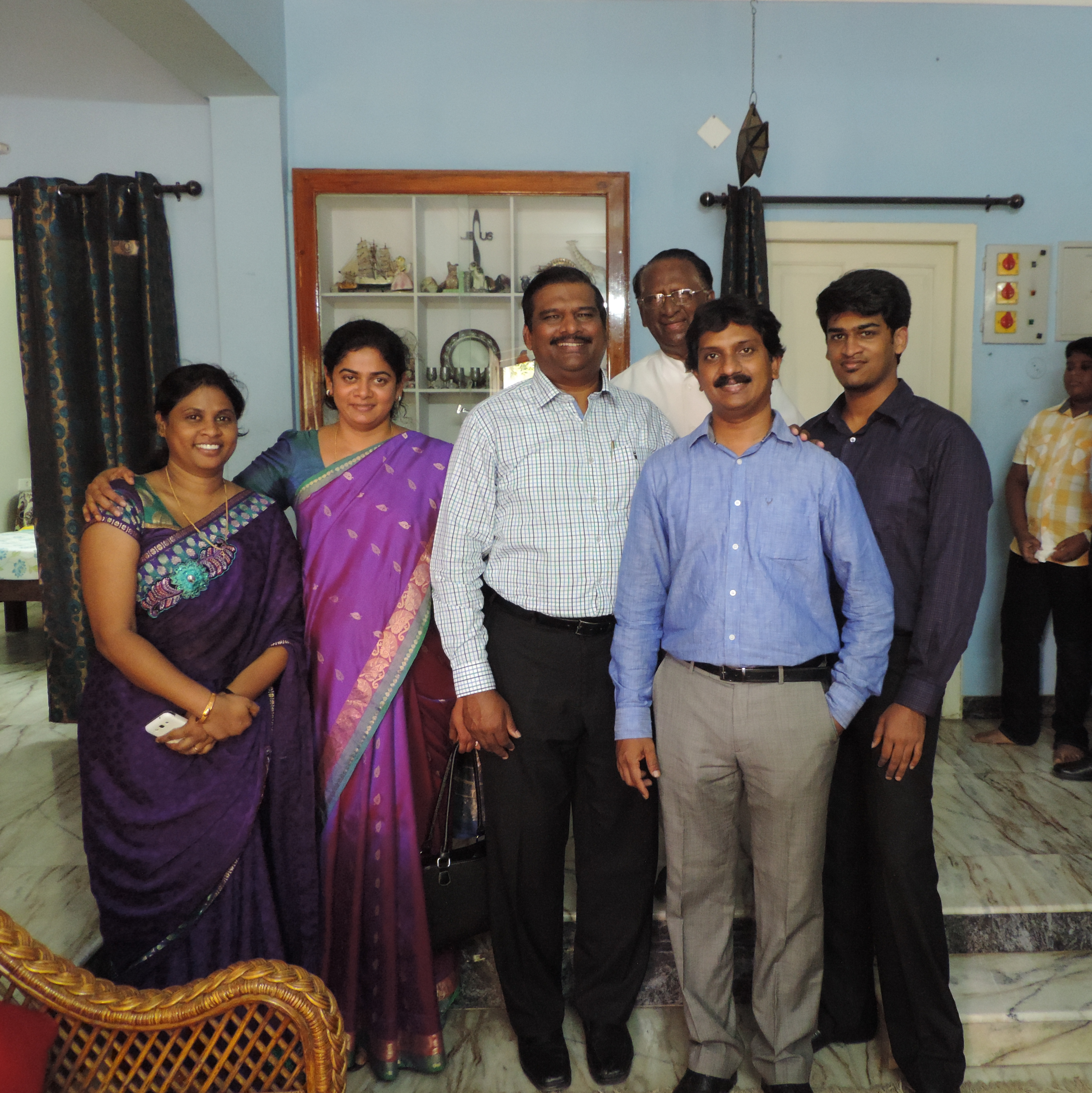 Blessed interaction with Dr. Paul Dinakaran